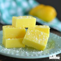 Lemon Fudge {Five Minute}