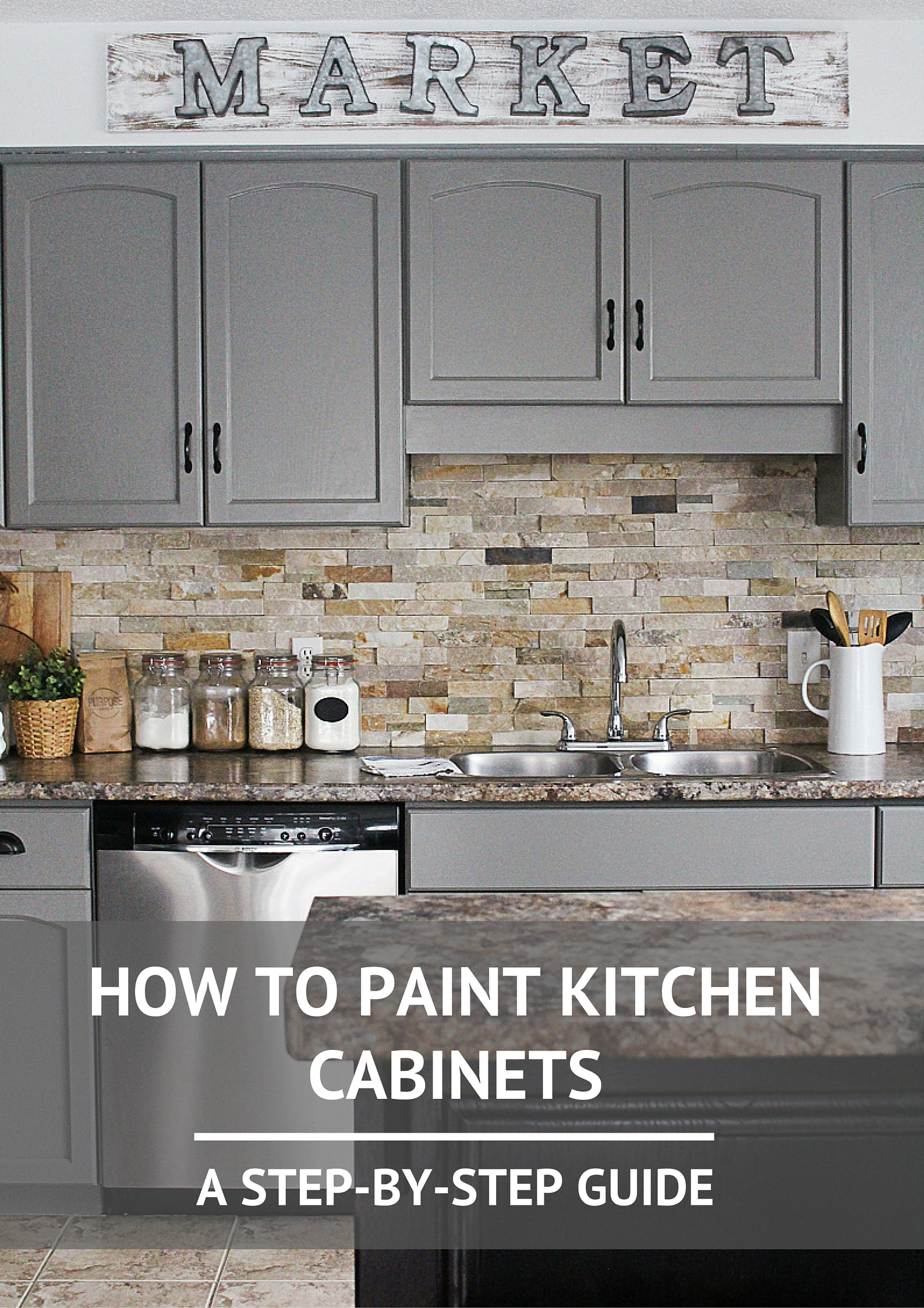 & How to Paint Kitchen Cabinets