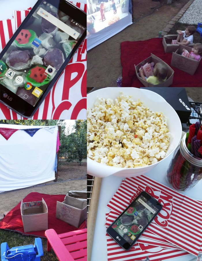 make your own drive-in with #DataAndAMovie - Little Dove Blog