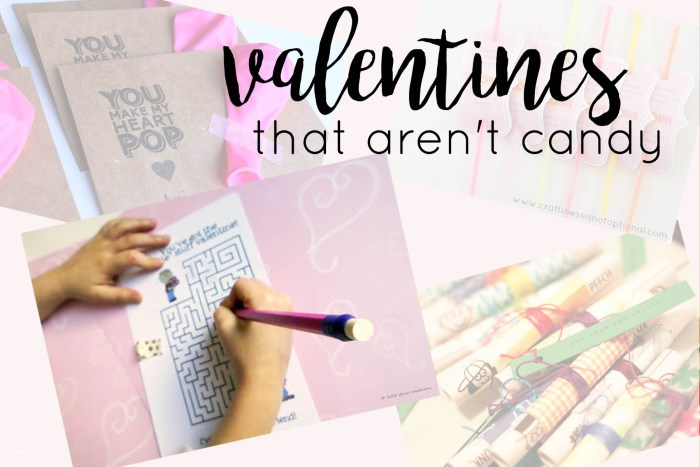 valentine ideas that aren't candy