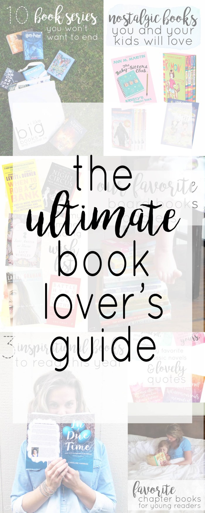 ultimate book lover's guide and giveaway