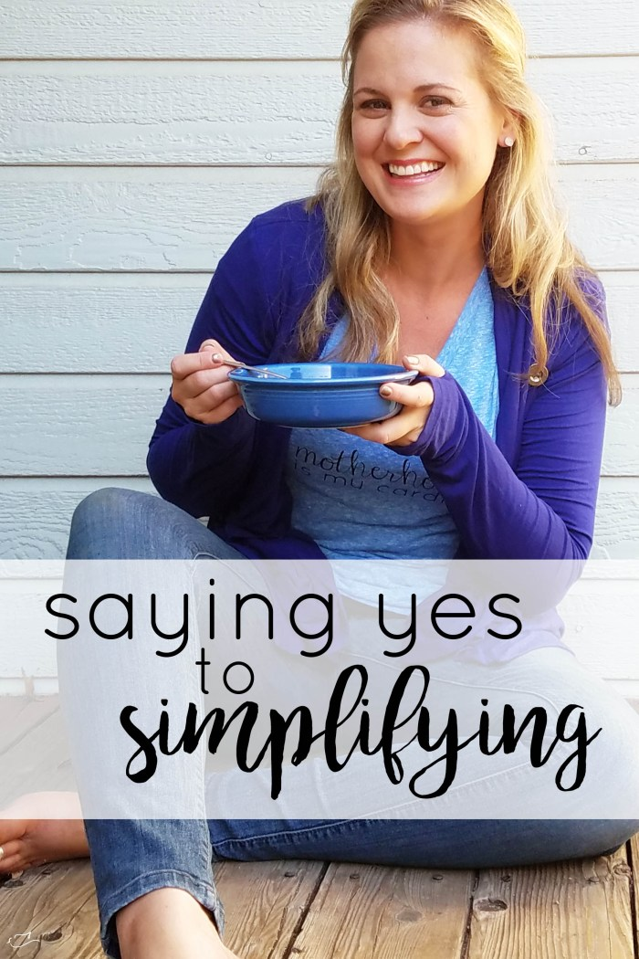 Campbell's Well Yes soups and saying yes to simplifying