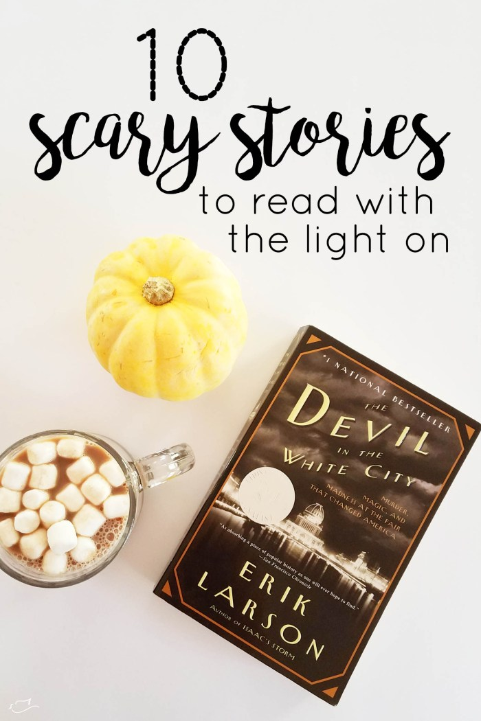 scary stories to read with the light on
