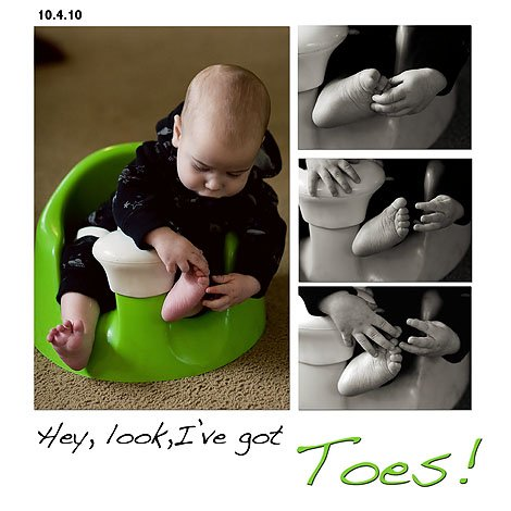 Toes blog