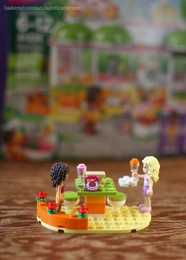 Fun Girls night with Avi and the LEGO Friends HeartLake Juice Bar. 52