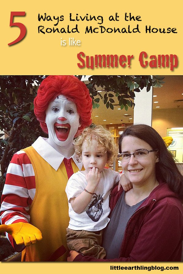 What it's like to stay in the Ronald McDonald House