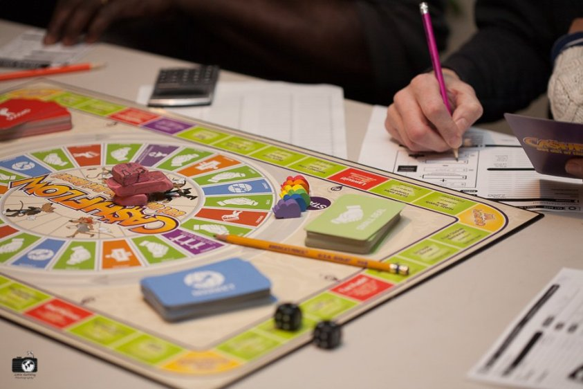 Cashflow is a fun, family game that will teach your kids about finances.