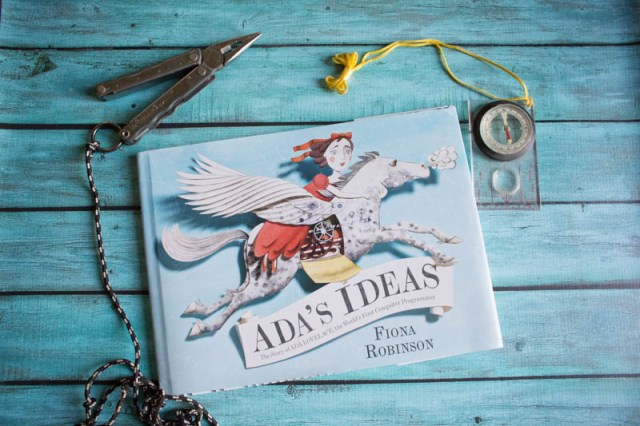 Ada's Ideas is a great pictures book about the world's first computer programmer.