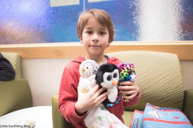 Surgical g-tube removal at Seattle Children's Hospital.