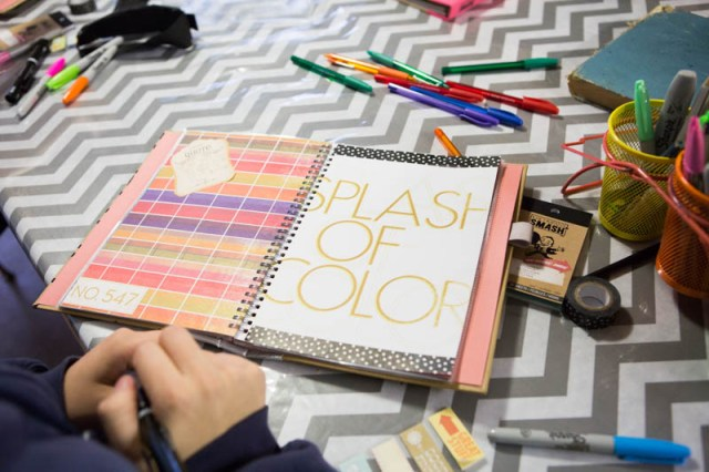 Smash books are a great way for teens to express themselves!