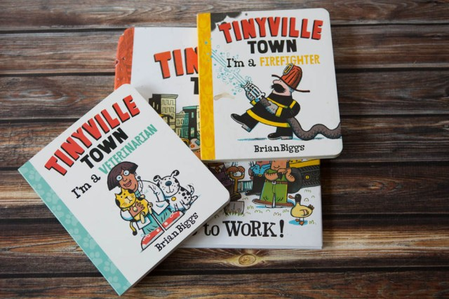 Tinyville books are fun little stories about a town full of diverse people. You will see women working and residents of all colors. These are fun stories your preschooler is sure to love.
