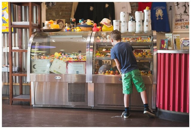 Touring Bellingham: Boulevard Park and Mallard Ice Cream
