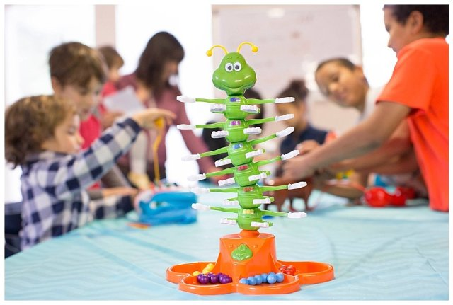Host a fun homeschool game day party with Goliath Games!