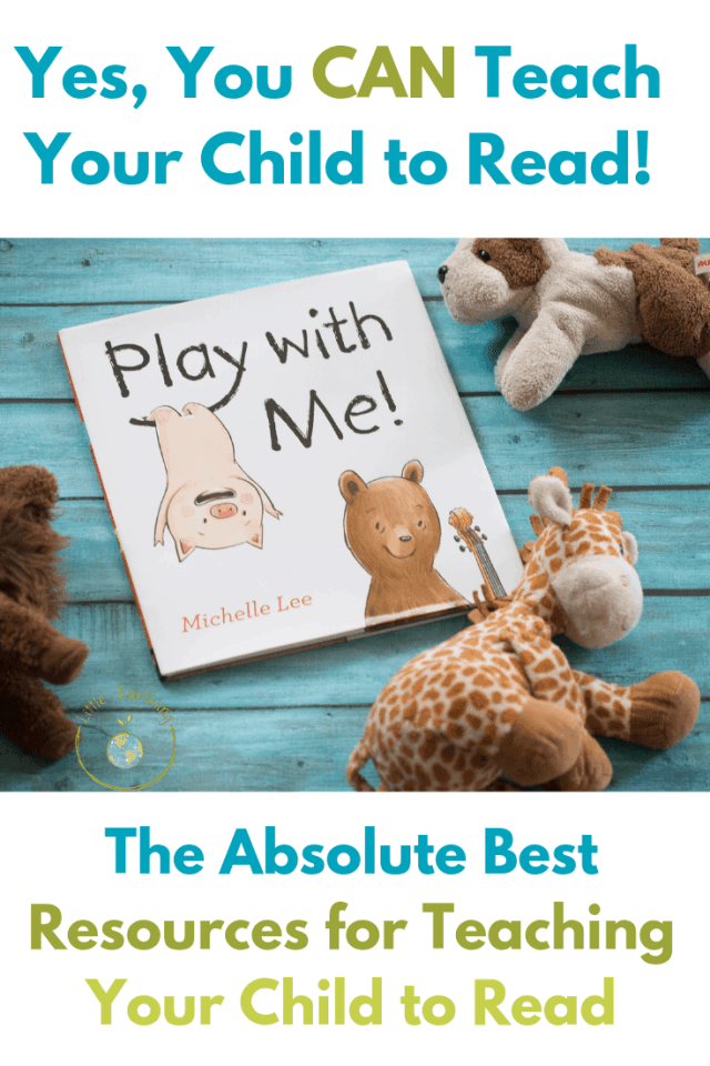 Yes, you can teach your child to read! The best reasourses for teaching kids to read.