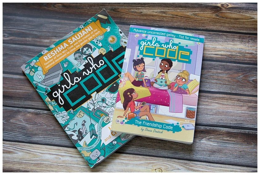The Girls Who Code books are perfect for any kid interested in coding.