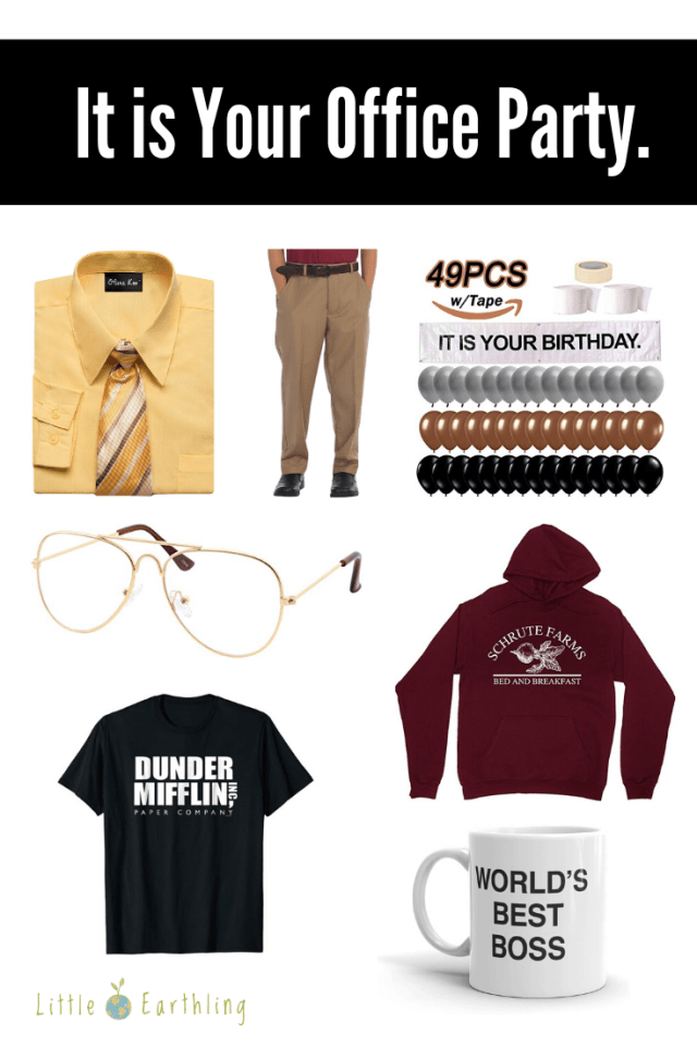 Costume ideas for Office Themed party.