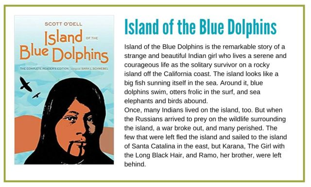 Island of the Blue Dolphins is a great coming of age story with a female protagonist.