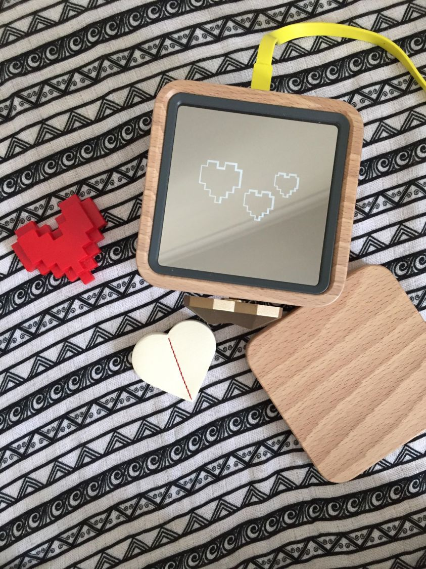 The lovebox is a simple way to keep in touch with long-distance family.