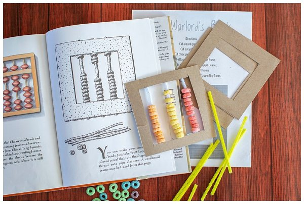 This Warlord's Beads STEM activity is perfect for introducting place value to kids.