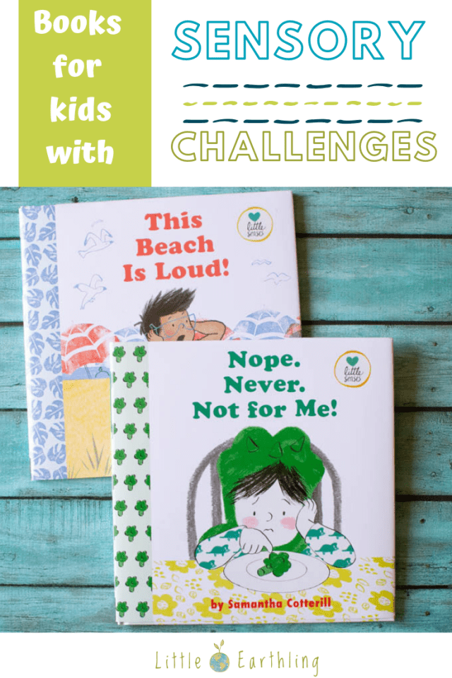 A collect of great books for kids who struggle with sensory issues.