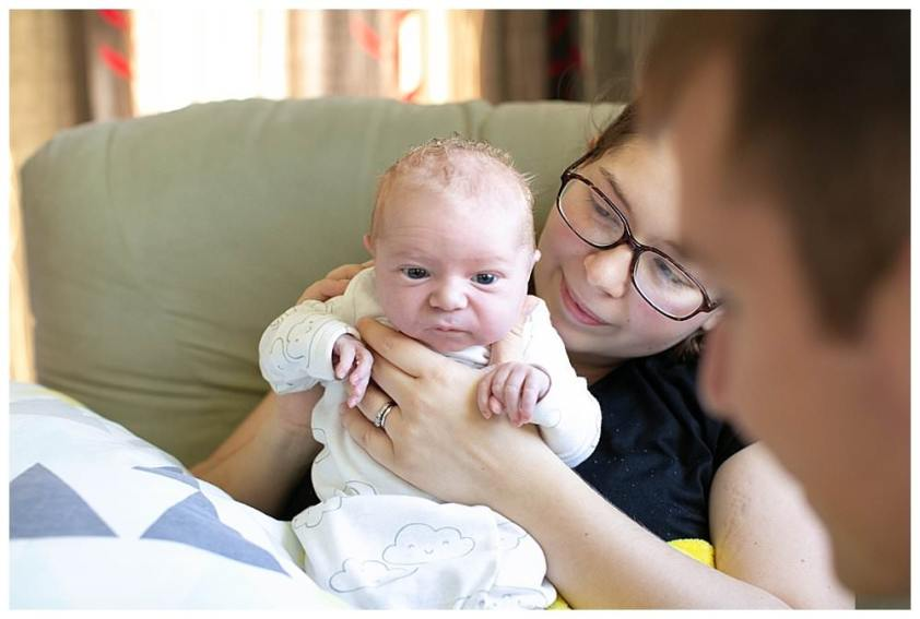 Tips for helping when visiting new baby.