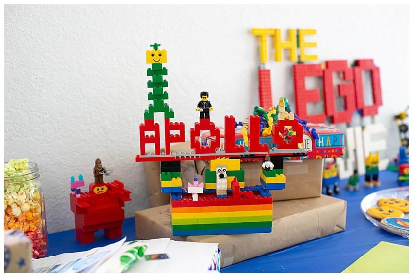 Apollo's birthday. LEGO Movie 2 Party.