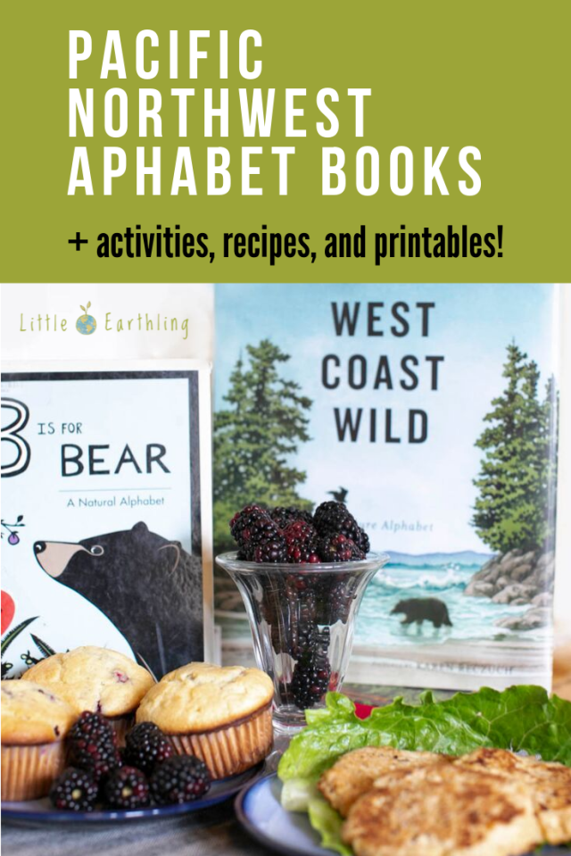 Fun activites to go along with these Pacific Northwest Aphabet Books.