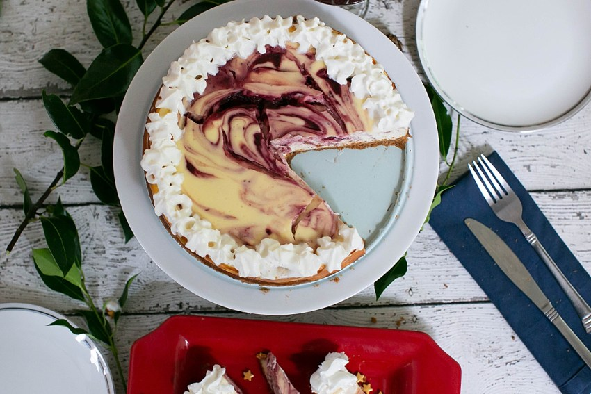 Cranberry Orange Cheesecake Recipe.
