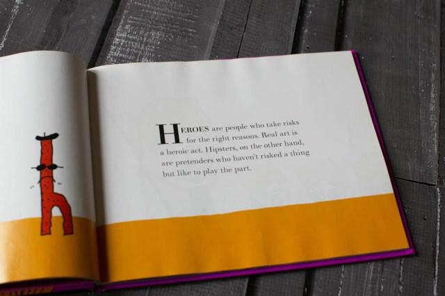 Seth Godin's V is for Vulerable book.