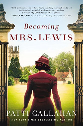 Becoming Mrs. Lewis by Patti Callahan. A great read, but sadly, historical fiction.