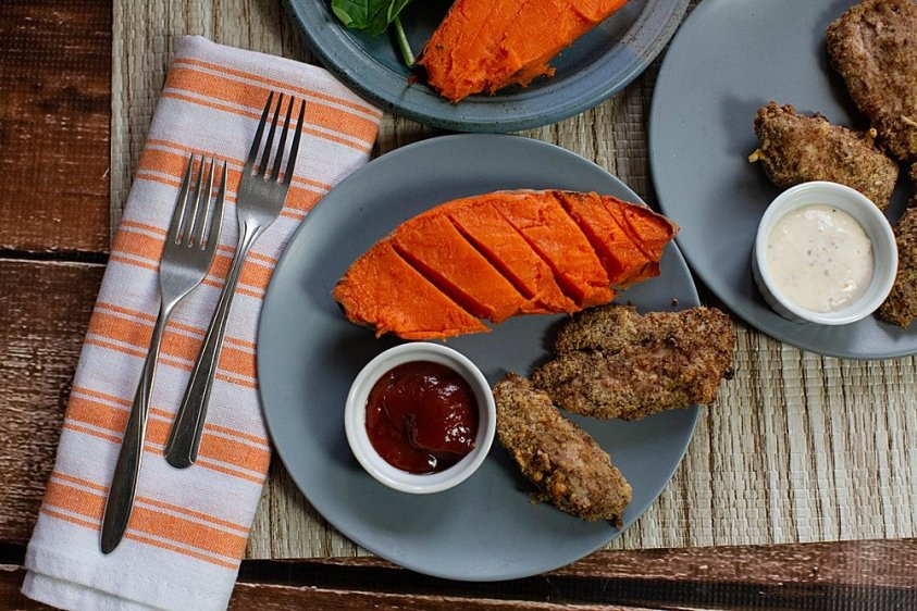 Delicious and affordable chicken strips cooked in an air fryer.