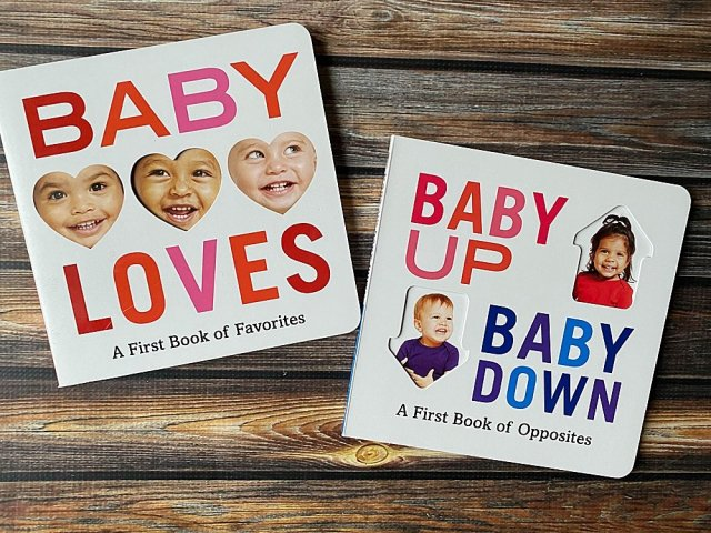 Baby Up Baby Down: A First Book of Opposites.