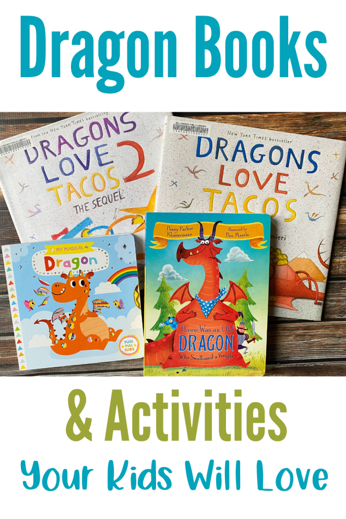 Dragon books and activities your kids will love.