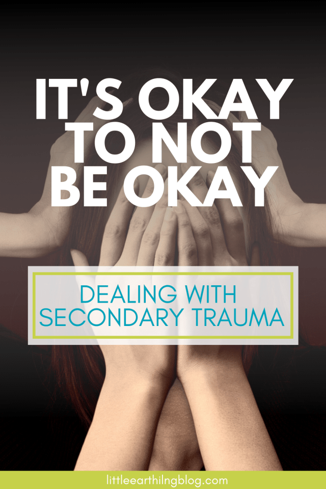 Dealing with Secondary trauma is difficult, self-care is often impossible, and difficult to understand.