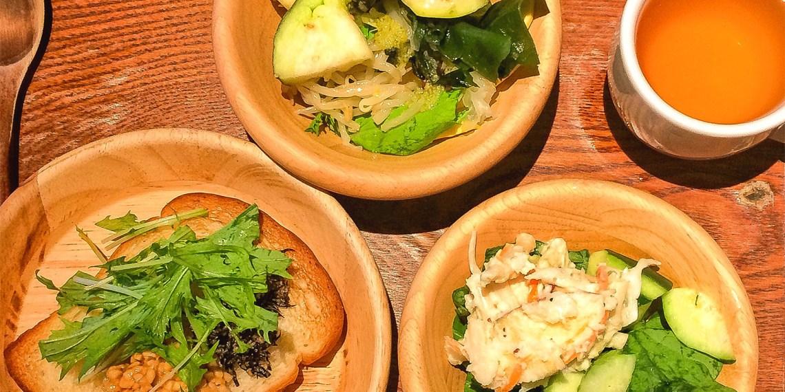 【京都餐廳】¥500自助素食放題「都野菜賀茂」趁早餐趕緊補充健康有機蔬菜!