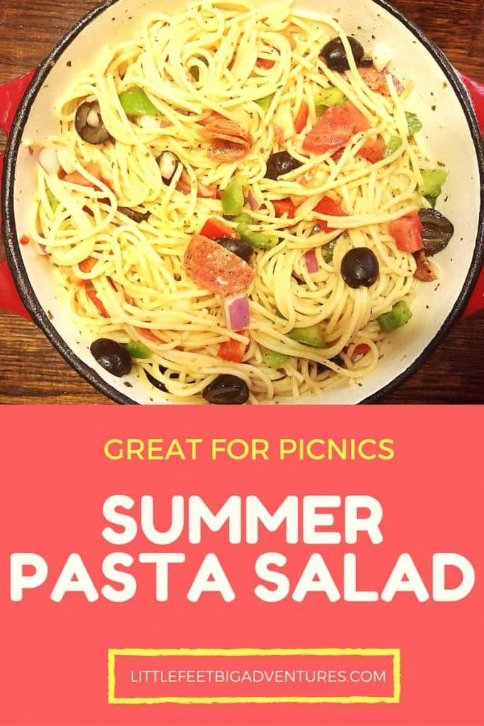 Picnic Summer Pasta Salad