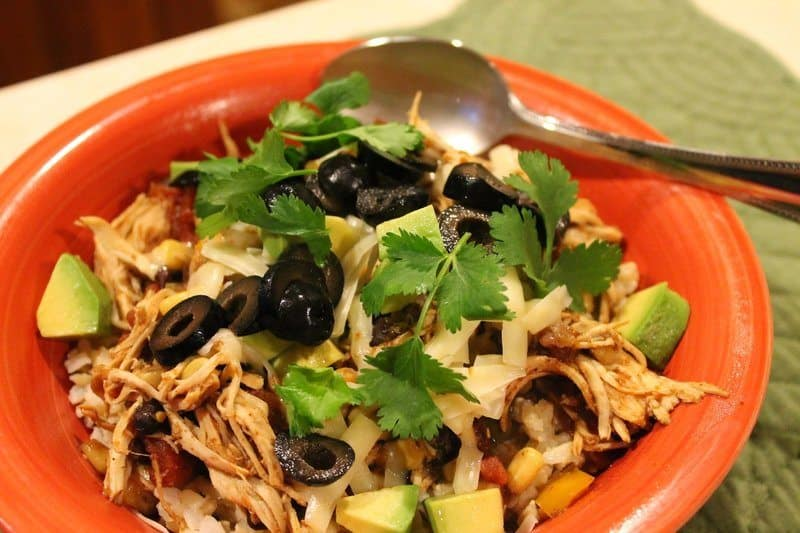 southwest-chicken-bowl