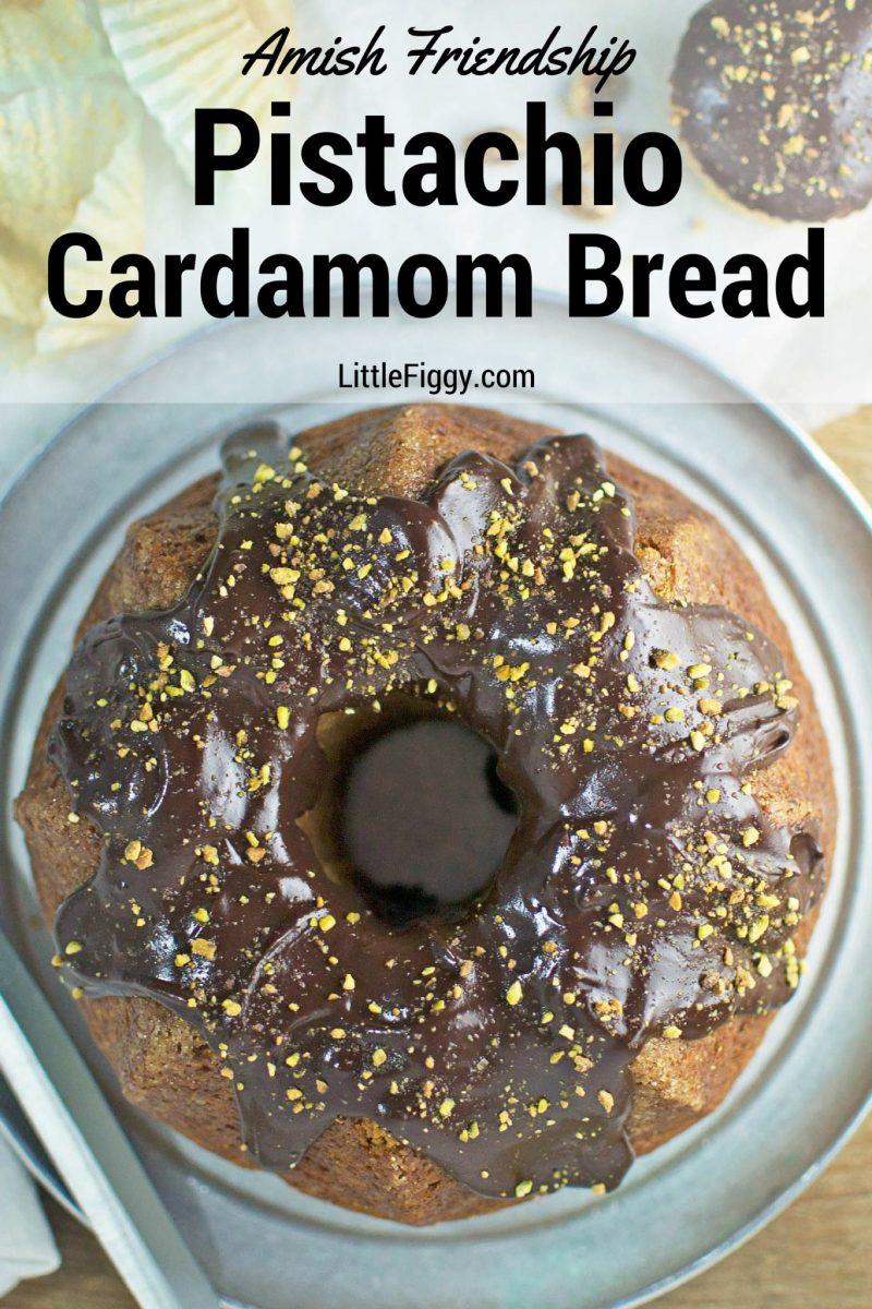 Pistachio Cardamom Amish Friendship Bread