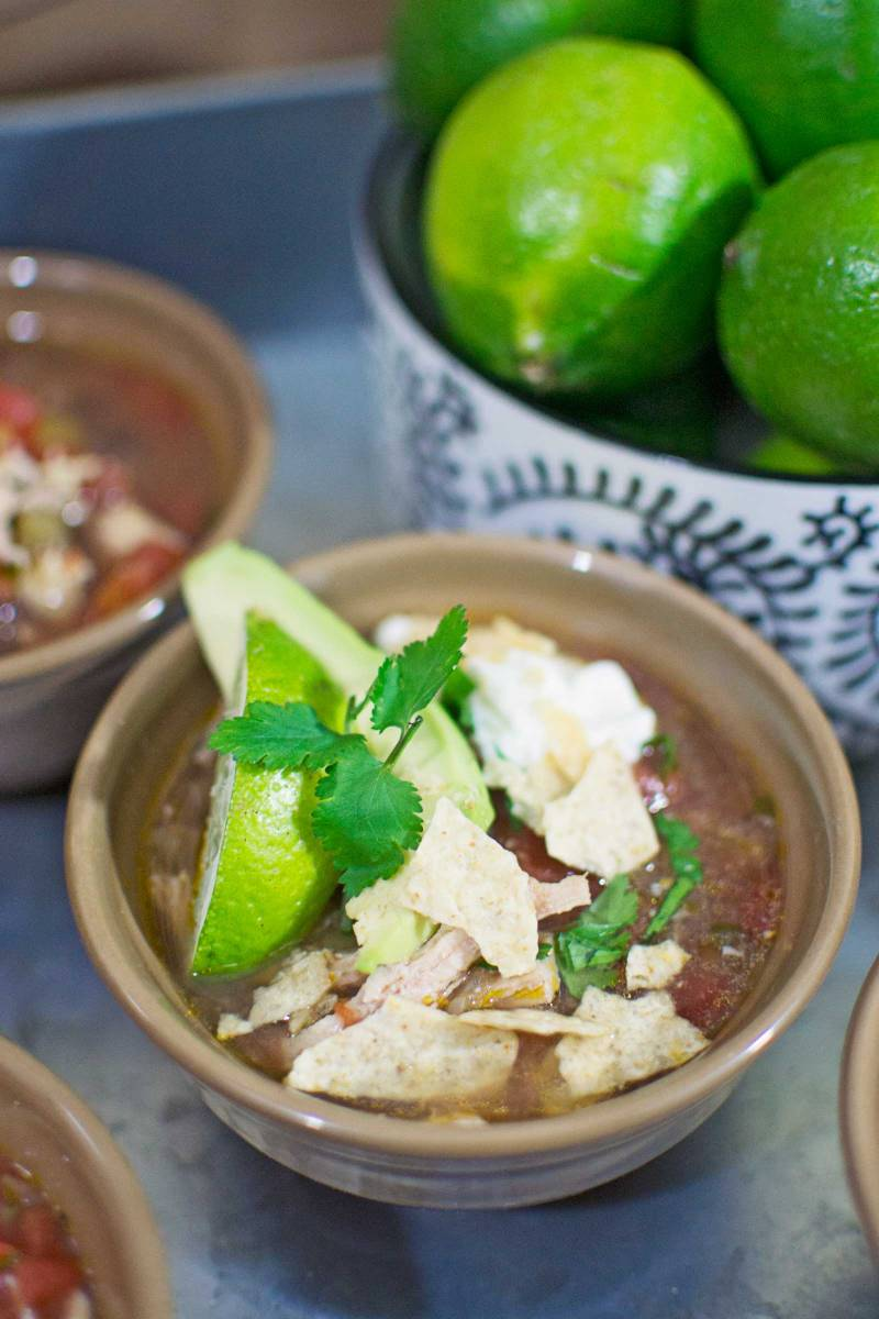 The Big Game # #gamedayglorysweepstakes - Chicken Lime Tortilla Soup