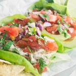 Creamy Lime Chicken Salad with Pico de Gallo