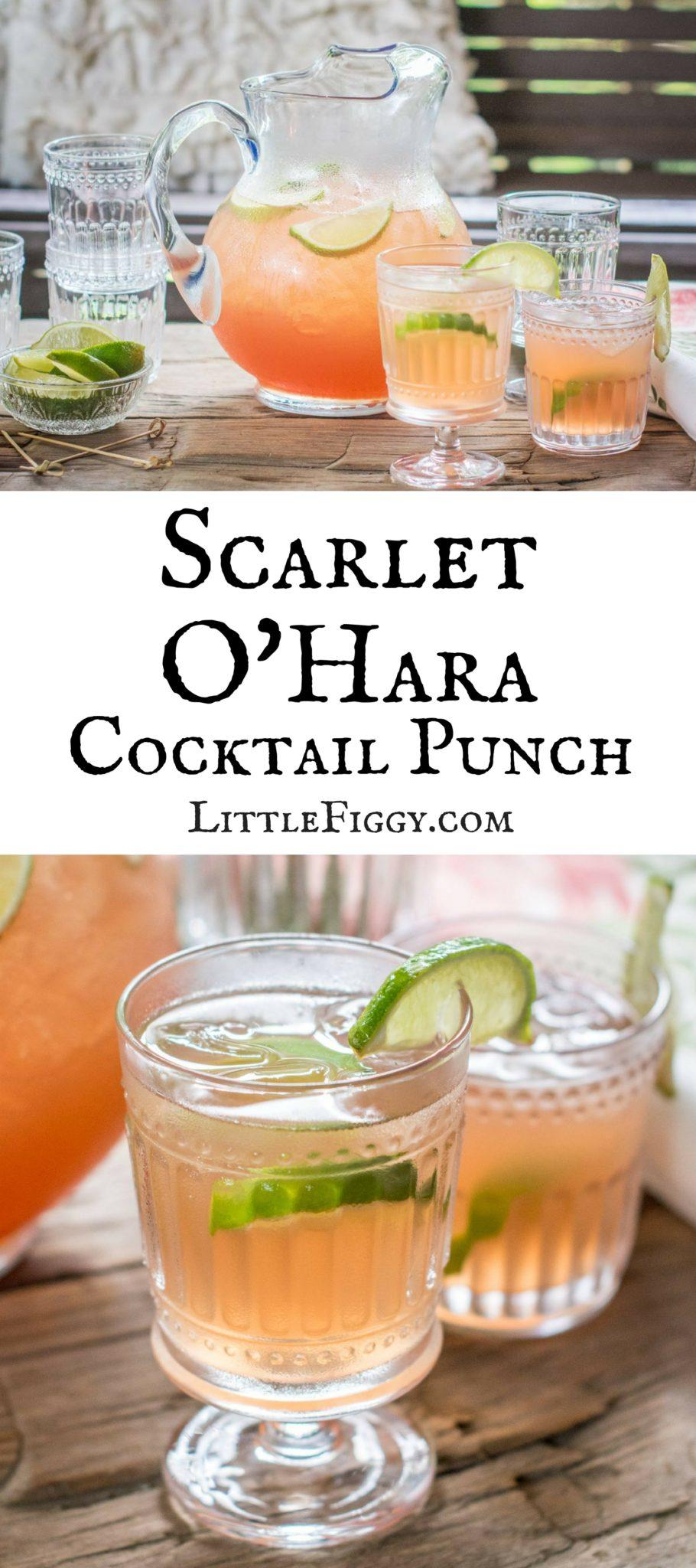 Scarlet O'Hara Cocktail Punch ready to enjoy! @WorldMarket #WorldMarketCMA #CMAFest #ad