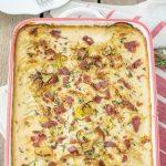 Super Creamy Zucchini Potato Gratin