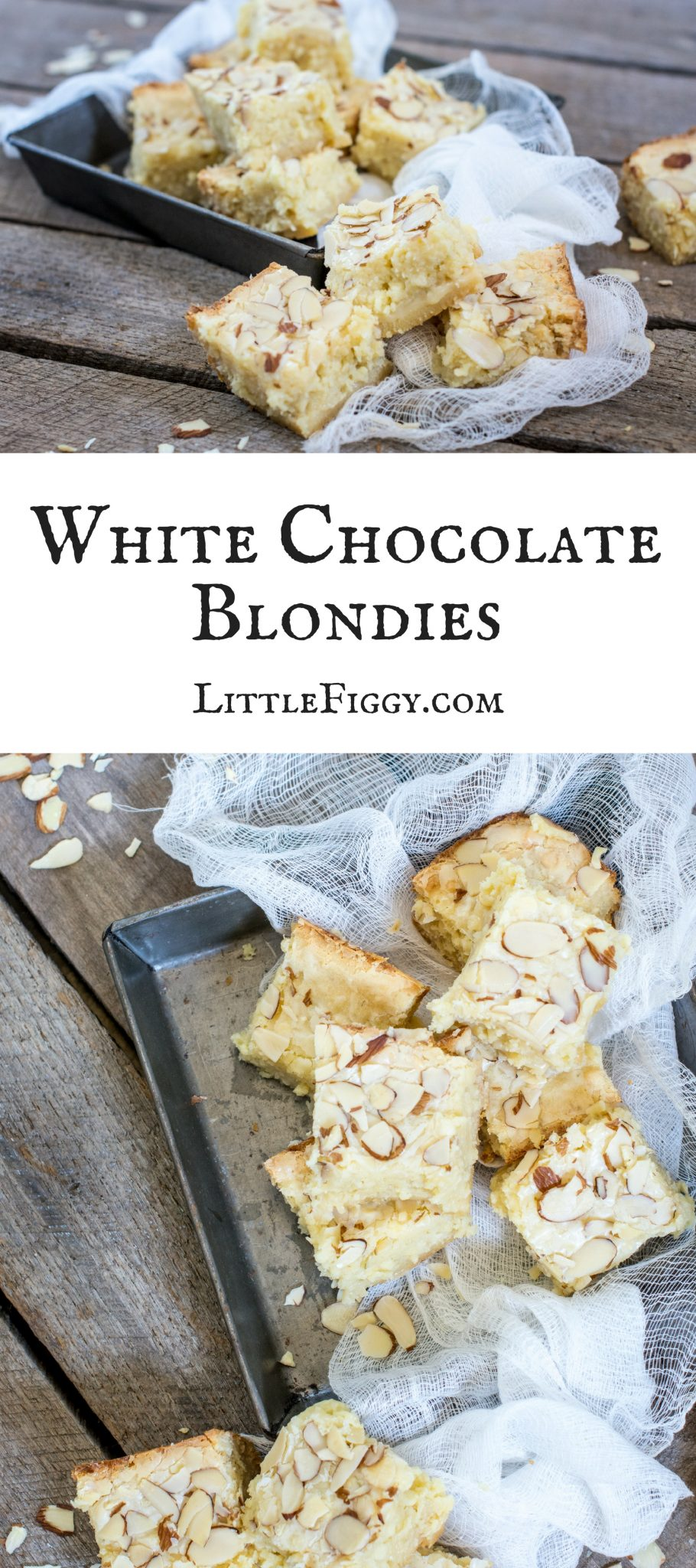 Enjoy this White Chocolate Blondies recipe, with a hint of coconut & lime to brighten things up! Get the recipe at Little Figgy Food. #ad #DriveToyota #LetsGoPlaces #Prius