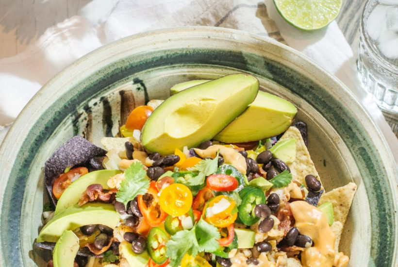 Enjoy my take on Lobster Nachos from Atlanta Industry Tavern. Get the recipe at Little Figgy Food. #ad #driveToyota #ToyotaCamry