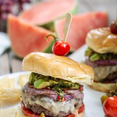 Easy to Make Chimichurri Burger Recipe