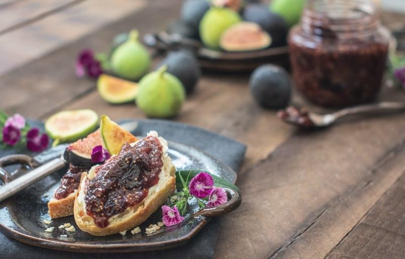 Serve this Fig Jam recipe on toast or stirred into Greek yogurt.