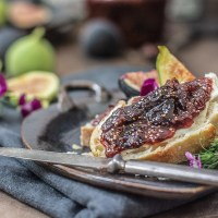 Fresh Fig Jam with Ginger