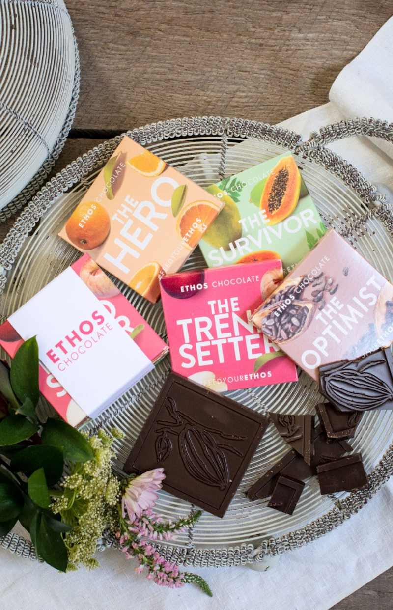 Serving Ethos Chocolate Bars