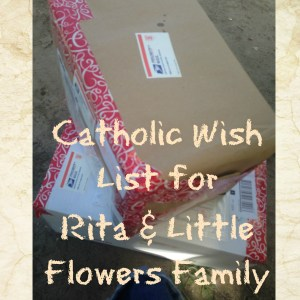 SEND us your Catholic Book Donations!