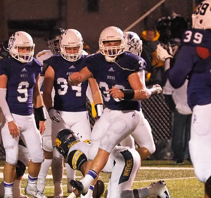 Chainsaw accident can't keep Garrett Schneider from suiting up in last football game